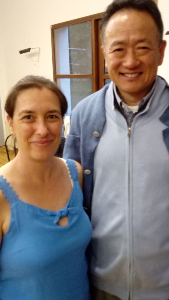 LIU Dong et Gwénaëlle May